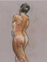 Figure drawing by matthias-corvidae