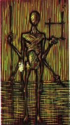 Self Portrait as Shaman by matthias-corvidae