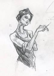 Issa by matthias-corvidae