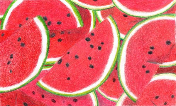 Pencil watermelon by caroline-z