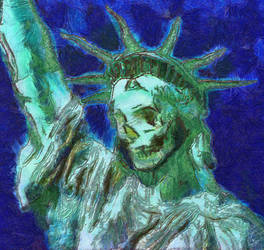 The Death of Liberty by Nimily