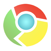 Google Chrome Sticker Style by VADi25