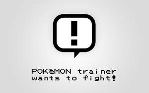 POKeMON Trainer wants to fight by VADi25