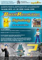 Battle Revolution Tournament Poster (2013) by VADi25