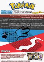 Dragon Type TCG Tournament Poster by VADi25