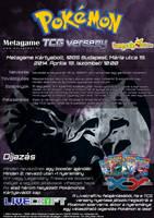Dark Type TCG Tournament Poster by VADi25