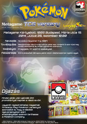 Retro Challenge TCG Poster by VADi25