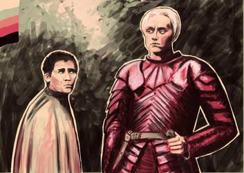 Brienne and Pod by KellyCDB
