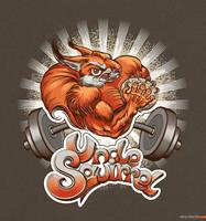 Uncle Squirrel by vincvincit