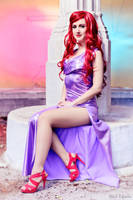 Ariel -sparkly dress- by AliciaMigueles