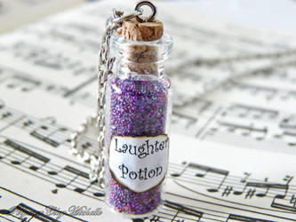 Laughter Potion Ncklace-Harry Potter Inspired by PolymerClayMichelle