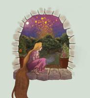 Rapunzel by Alatariel-Amandil
