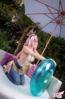 Super Sonico Bikini by DalinCosplay