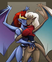 Gargoyles for Saysyou by mastermead