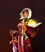 ScarletCrusade Chick for Tulon by mastermead