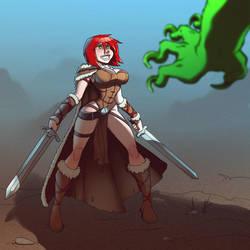 Tyra for Melandrhild by mastermead