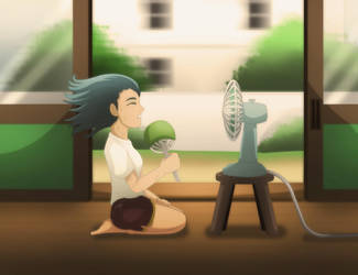 Hot Weather by tiquiajomari