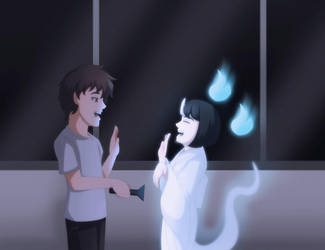 Friendly Ghost by tiquiajomari