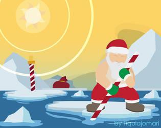 North Pole Melting by tiquiajomari