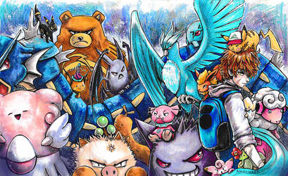 Faron and the Pokemon by Arenheim