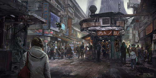 The Bazaar by Skyrion