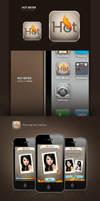 Hot iPhone Application by amynsattani