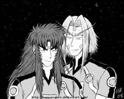 Jurokubei and Seppukumaru by Seppukumaru