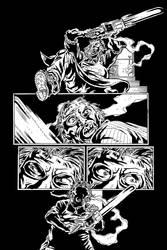 Loomis Page 1 Inks by KurtBelcher1