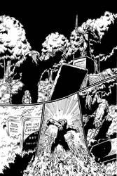 The Heap 3 Page 1 Inks by KurtBelcher1