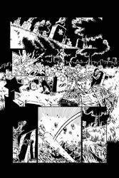 A Grave Mistake Page 1 Inks by KurtBelcher1