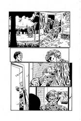 A Grave Mistake Page 2 Inks by KurtBelcher1
