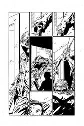 A Grave Mistake Page 3 Inks by KurtBelcher1