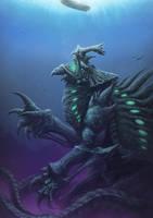 Deep Kaiju by PeterSiedlArt
