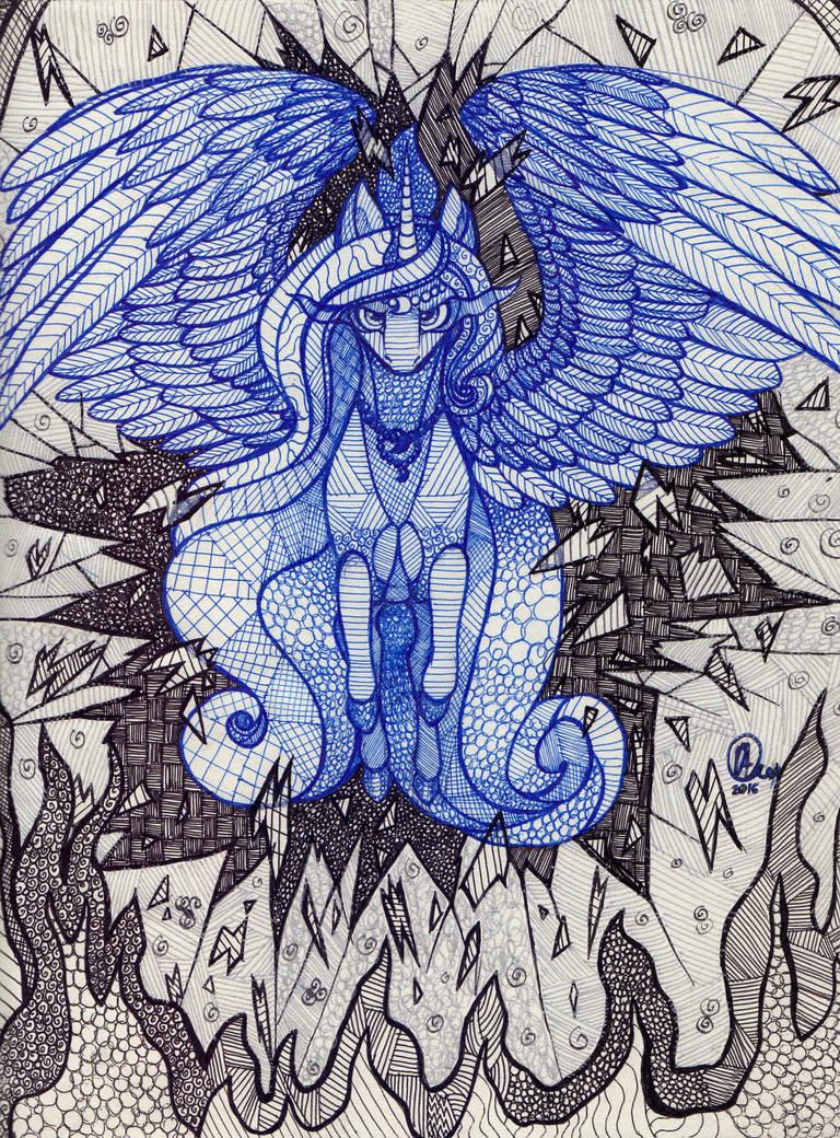 Princess Luna by KimSteinAndOther