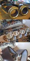 Steampunk Goggles by raegar