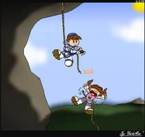 Rock Climbers by YoshiMan1118