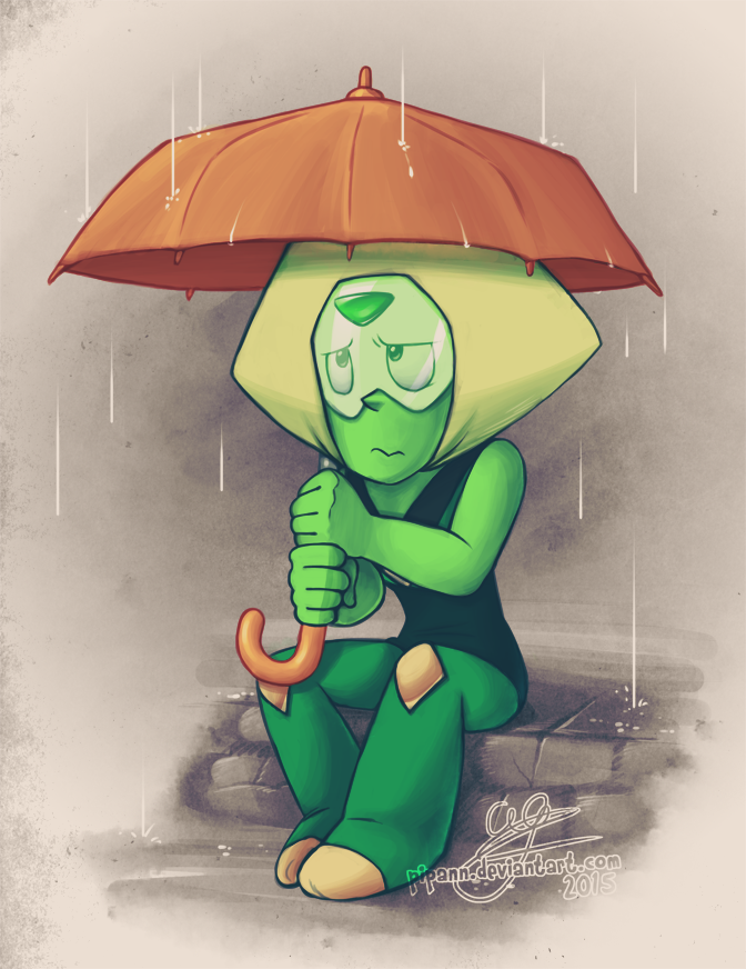 Guess who has become 500% a bigger fan of this dorky individual since the latest Steven Universe episode? This drawing is based on the upcoming episode that we've only seen a sneak peek of. I serio...