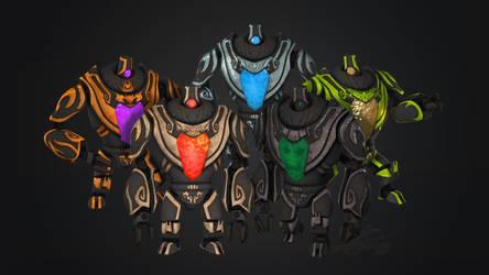 M.O.X. Avatar forms by Pipann
