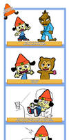 Parappa's perfect day by MisterChris0123