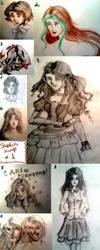 Sketch dump #1 by Ogronlove