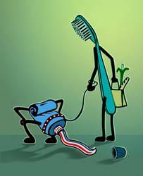 Dental care by gustaveviolette