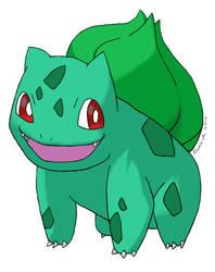 Pokemon - 001# Bulbasaur by Candy2012