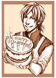 Happy Birthday Goku by Loreen