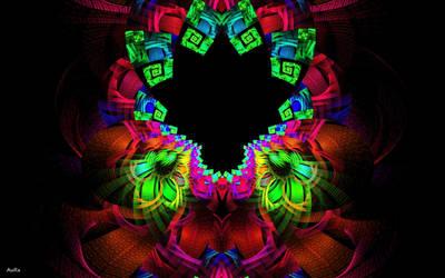 Psychedelic Tree by AuroraMycano