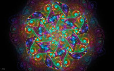 Mandala of Broken Dreams by AuroraMycano