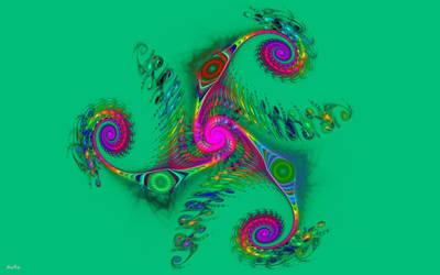 Dancing Triskel by AuroraMycano