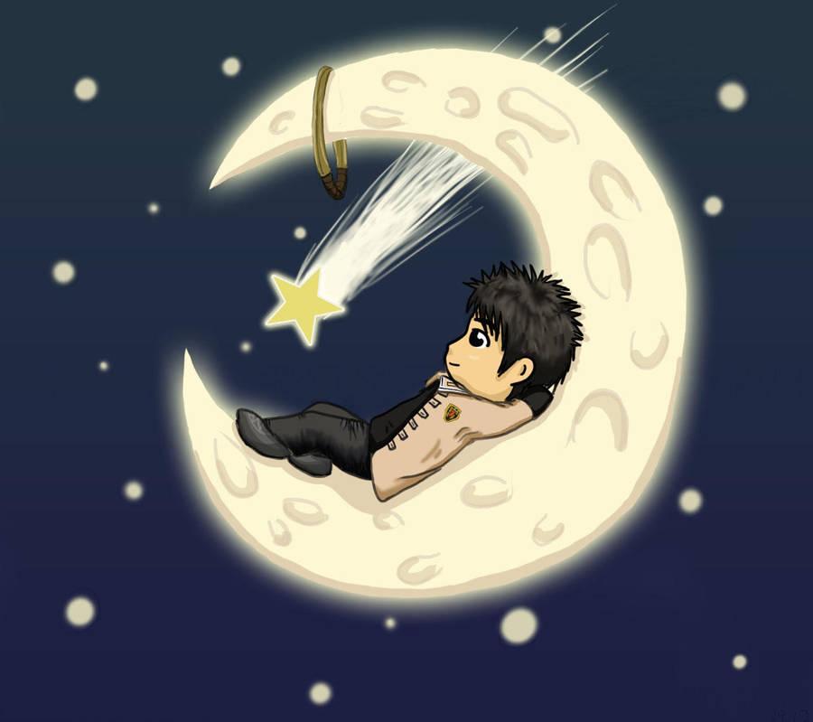 Dazing on the Moon by ShadowDragonK