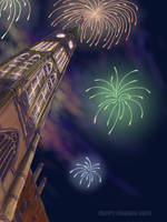 Fireworks from the Heart by ShadowDragonK