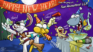 2A New Year's 09 by JoeCostantini
