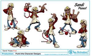 PunkArts Character Design 01 by JoeCostantini